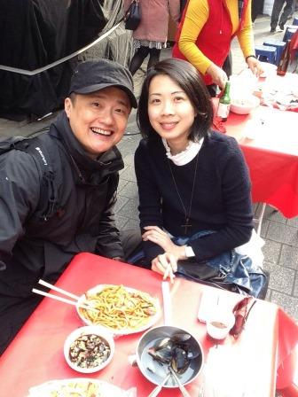 Having lunch on Namdaemun Market