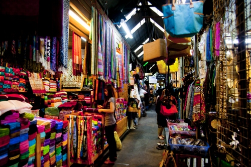 Jatujak Weekend Market (Chatuchak) in Bangkok, Thailand