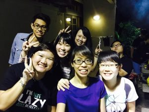 friends from Cathay AMK