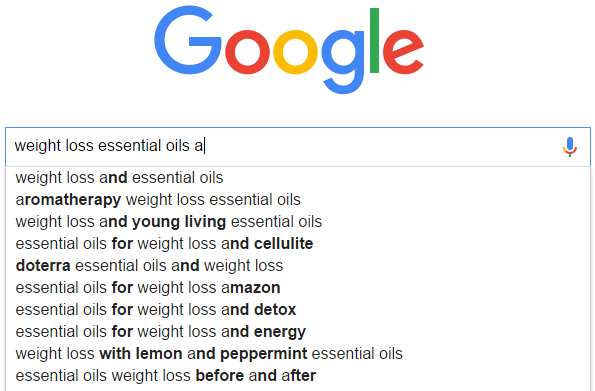 making money on the internet - weight lose essential oils