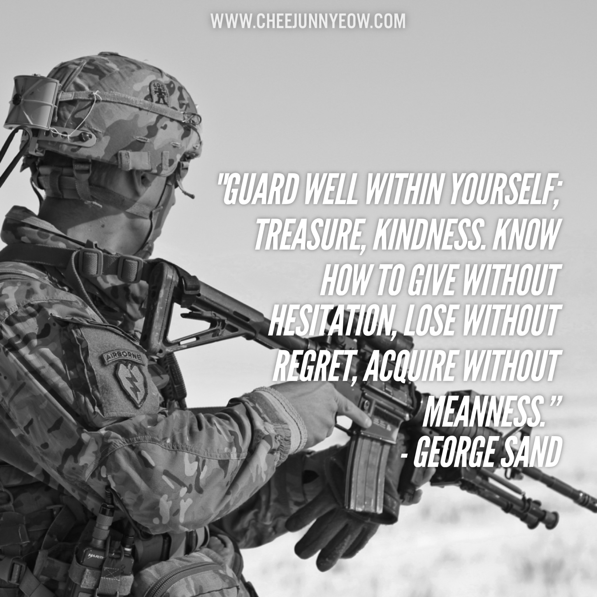 guard well within yourself